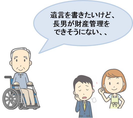 活用事例②財産を障がいのある子に定期的に給付できる家族信託(民事信託)