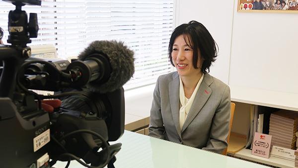 「NHKあさイチ」に、ともえみ代表 山口 良里子が出演しました。
