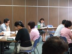 9月28日 大阪市北区社会福祉協議会で専門家の方々へ講演終了しました。